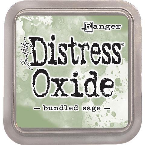 Distress Oxide -mustetyyny, sävy bundled sage