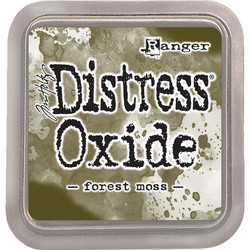Distress Oxide -mustetyyny, sävy forest moss