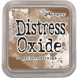 Distress Oxide -mustetyyny, sävy gathered twigs
