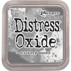 Distress Oxide -mustetyyny, sävy hickory smoke