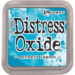 Distress Oxide -mustetyyny, sävy mermaid lagoon
