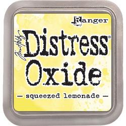 Distress Oxide -mustetyyny, sävy squeezed lemonade
