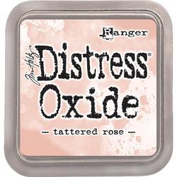 Distress Oxide -mustetyyny, sävy tattered rose
