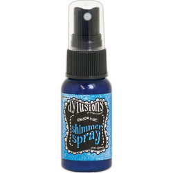 Dylusions Shimmer Spray -suihke, sävy London Blue