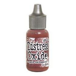 Distress Oxide täyttöpullo, sävy aged mahogany