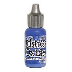 Distress Oxide täyttöpullo, sävy blueprint sketch