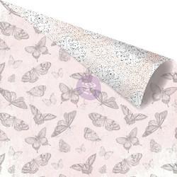 Prima Cherry Blossom -skräppipaperi Transformation, Gold Foiled