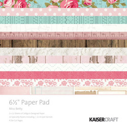 Kaisercraft paperikko Miss Betty