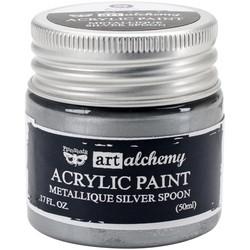 Finnabair Art Alchemy akryylimaali. Sävy Metallique Silver Spoon
