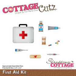 CottageCutz First Aid Kit -stanssisetti