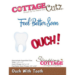 CottageCutz Ouch With Tooth -stanssisetti