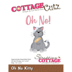 CottageCutz Oh No Kitty -stanssisetti