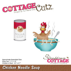 CottageCutz Chicken Noodle Soup -stanssisetti
