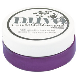Nuvo Embellishment Mousse, sävy Royal Aubergine