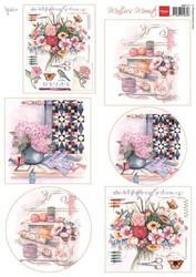 Marianne Design korttikuvat Needlework