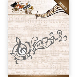 Amy Design Sound of Music stanssisetti Music Swirl