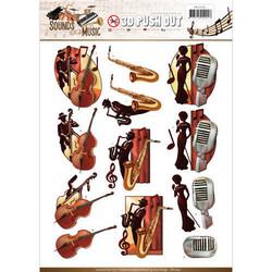 Amy Design Sounds of Music 3D-kuvat Jazz
