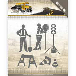Amy Design Daily Transport stanssisetti Road Construction