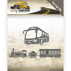 Amy Design Daily Transport stanssisetti Public Transport