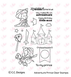 C.C.Designs leimasinsetti Adventure Prince