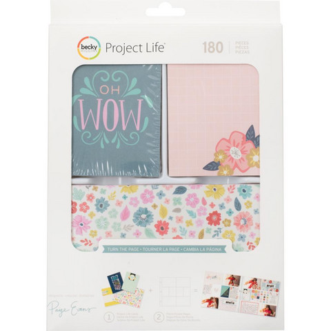 Project Life Core Kit Turn The Page, 180 osaa