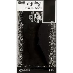 Dylusions Dyalog Insert Book Black, muistikirja