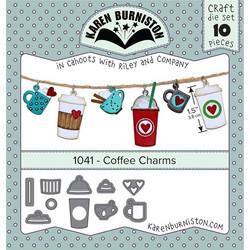 Karen Burniston stanssisetti Coffee Charms