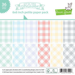 Lawn Fawn paperipakkaus Gotta Have Gingham