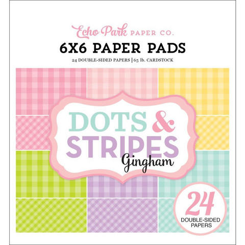 Echo Park paperikko Dots & Stripes Spring Gingham