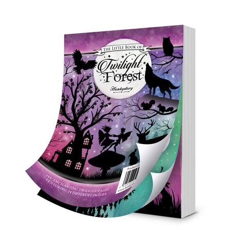 Hunkydory The Little Book of Twilight Forest -korttikuvat