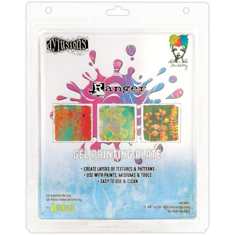 Dylusions Gel Plate, 9