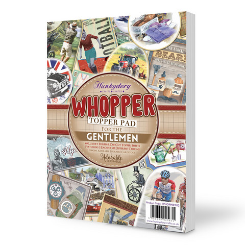 Hunkydory Whopper Topper -paperipakkaus For the Gentlemen