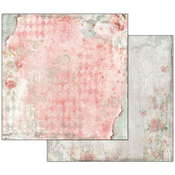 Stamperia skräppipaperi Dream Texture With Rose