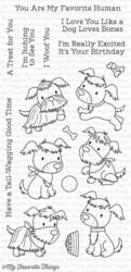 My Favorite Things Puppy Pals leimasinsetti