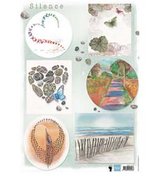 Marianne Design korttikuvat Silence 2