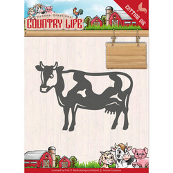 Yvonne Creations Country Life stanssi Cow