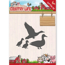 Yvonne Creations Country Life stanssisetti Ducks