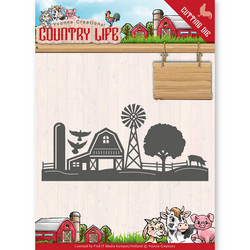 Yvonne Creations Country Life stanssi Farm Border
