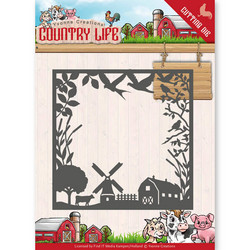 Yvonne Creations Country Life stanssi Frame