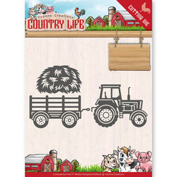 Yvonne Creations Country Life stanssisetti Tractor