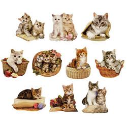 Valmiiksi leikattuja 3D kuvia, Cats
