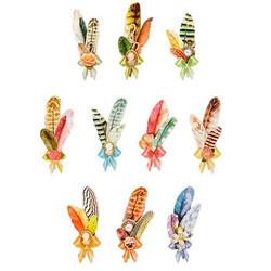 Valmiiksi leikattuja 3D kuvia, Feathers