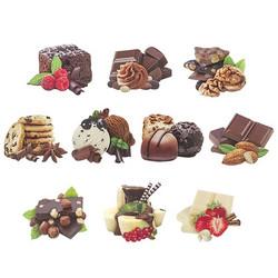 Valmiiksi leikattuja 3D kuvia, Chocolate Paradise