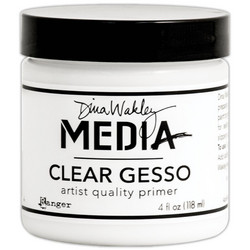 Dina Wakley Media Gesso, clear (kirkas), 118 ml
