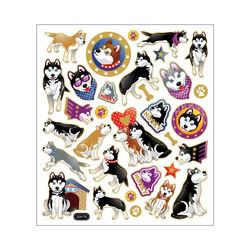 Sticker King tarrat Huskies