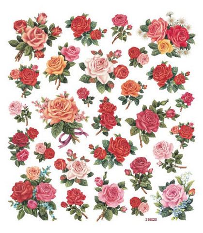 Sticker King tarrat Classic Roses
