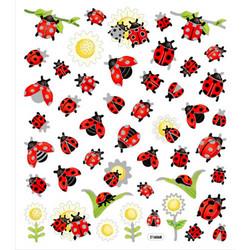 Sticker King tarrat Ladybugs & Sunflowers