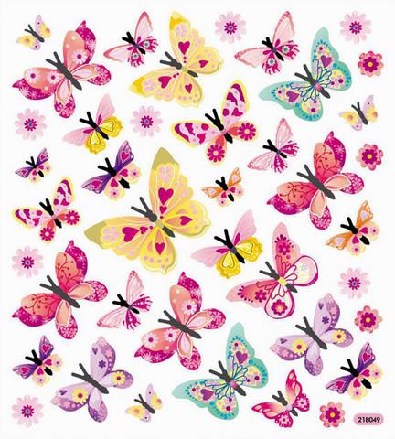 Sticker King tarrat Glitter Monarch