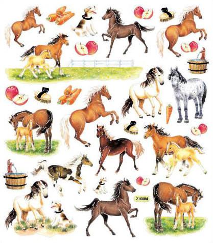 Sticker King tarrat Horses