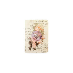 Prima Traveler's Journal muistikirja Dusty Roses, Passport